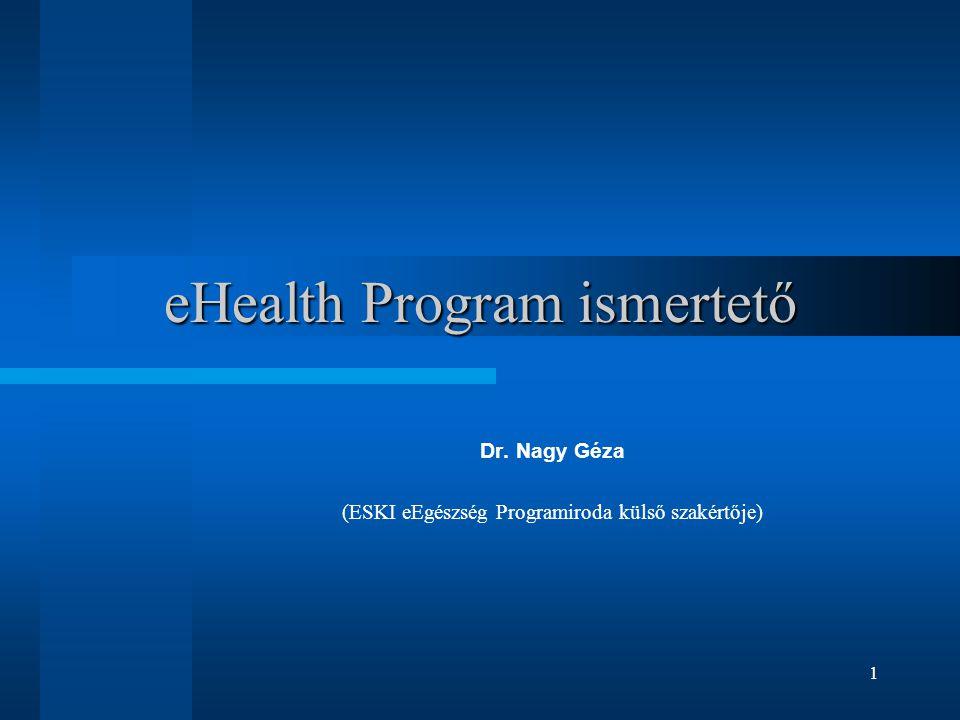 eHealth Program ismertető