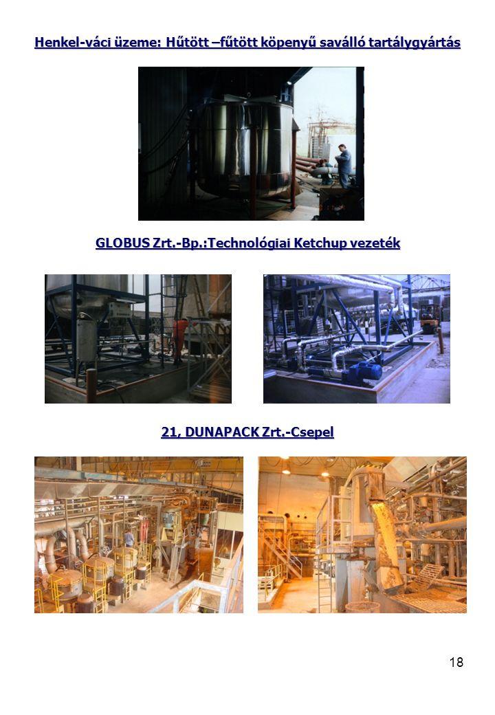 Henkel-váci üzeme: Hűtött –fűtött köpenyű saválló tartálygyártás