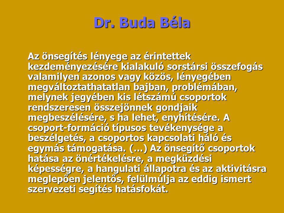 Dr. Buda Béla