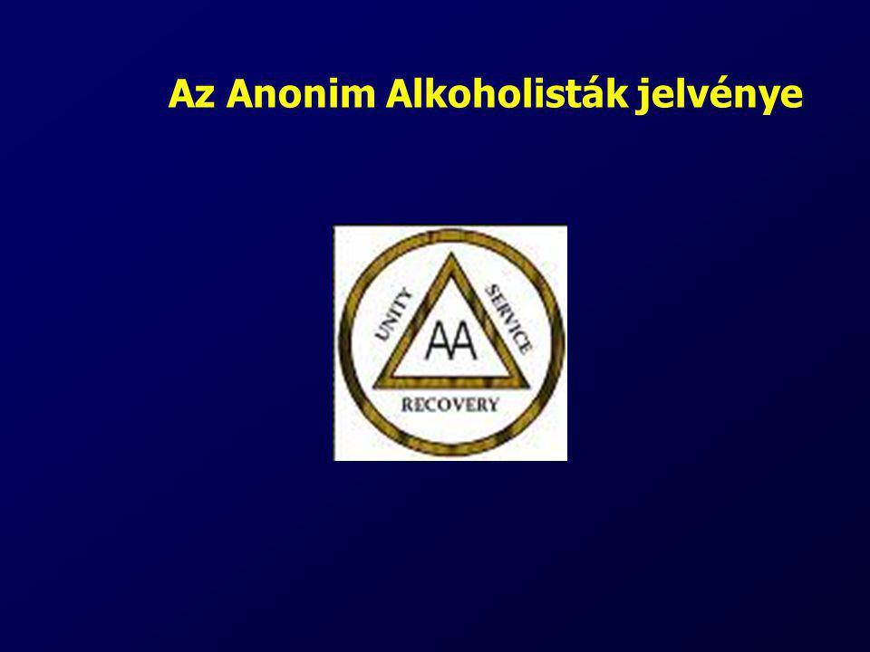 Az Anonim Alkoholisták jelvénye