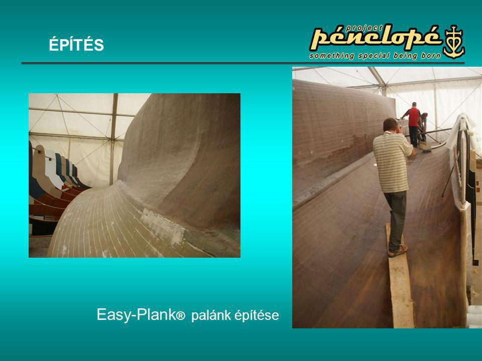 ÉPÍTÉS Easy-Plank® palánk építése