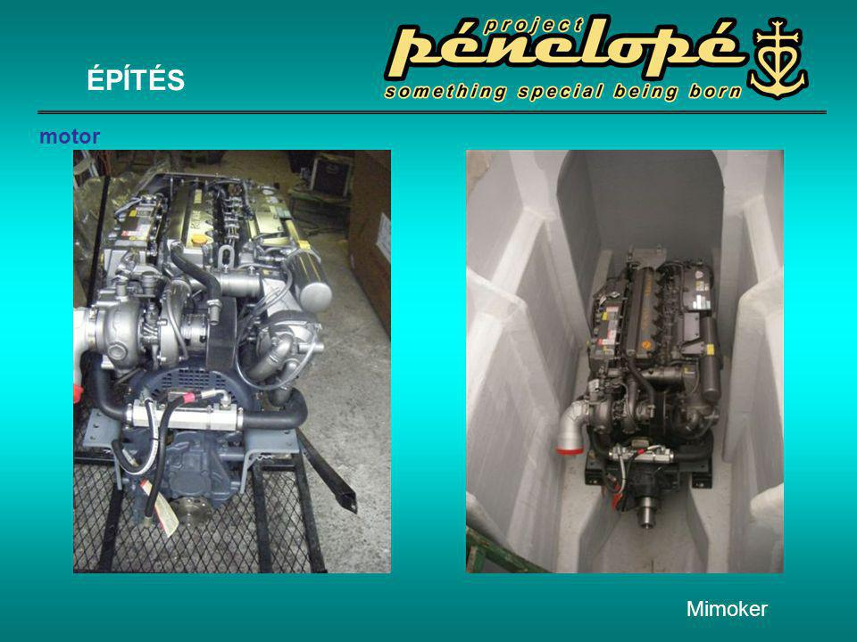 ÉPÍTÉS motor Mimoker