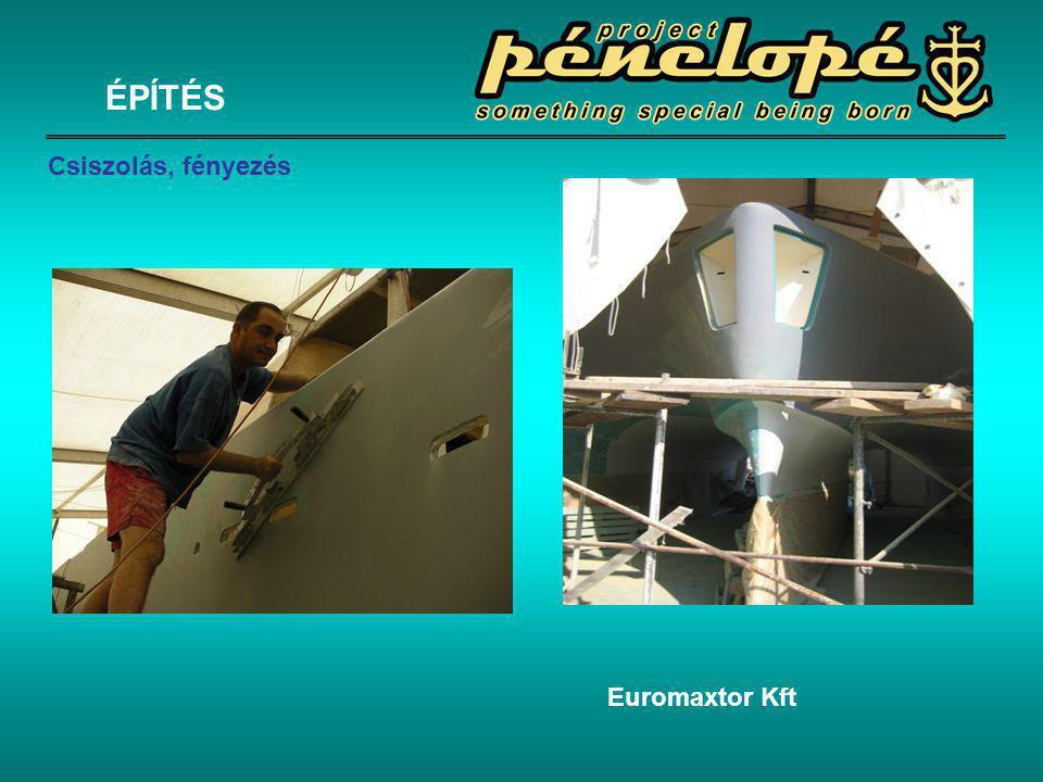 ÉPÍTÉS Csiszolás, fényezés Euromaxtor Kft