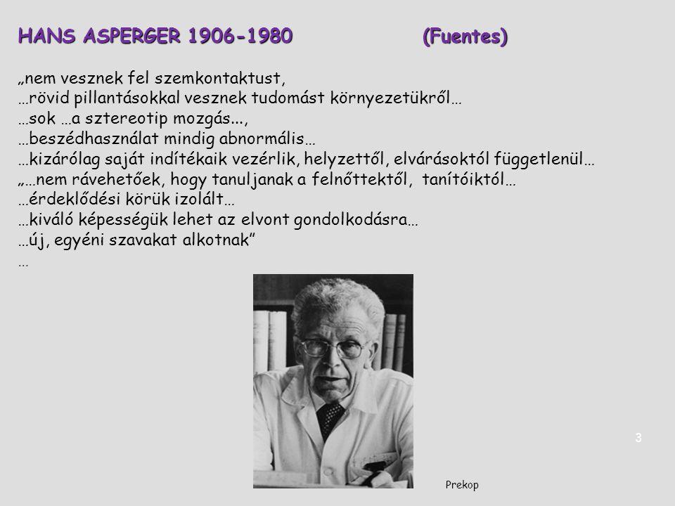 HANS ASPERGER 1906-1980 (Fuentes)