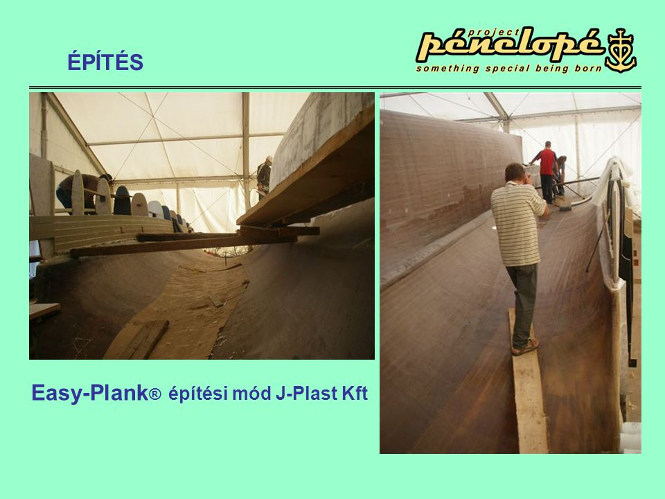 ÉPÍTÉS Easy-Plank® építési mód J-Plast Kft