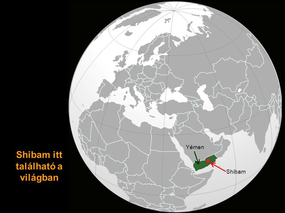 Shibam itt található a világban