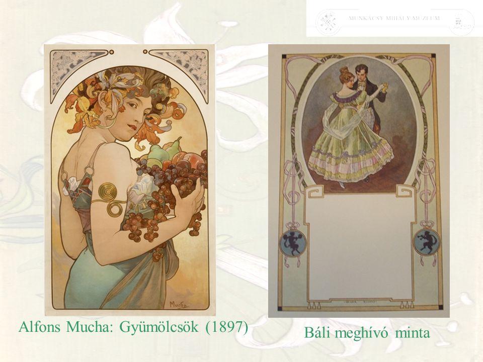 Alfons Mucha: Gyümölcsök (1897)