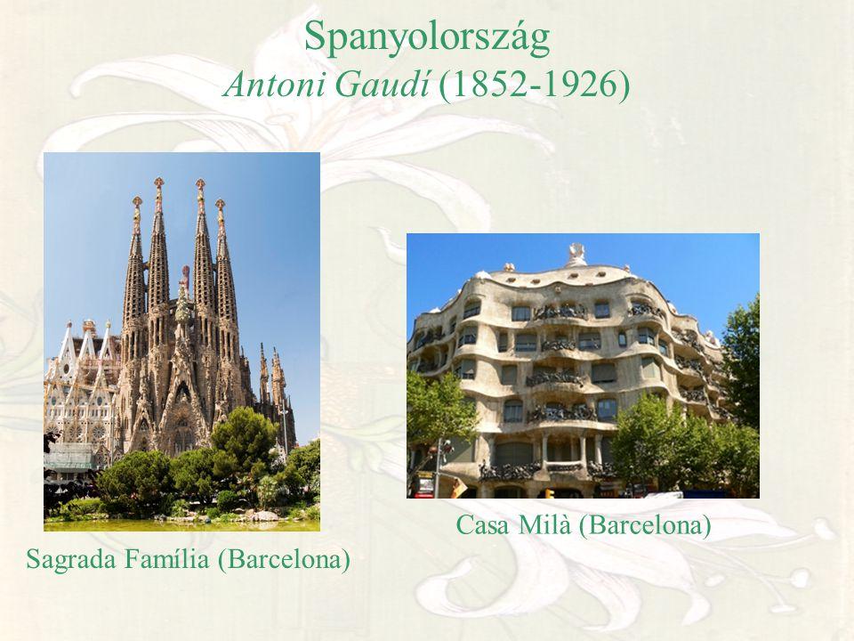 Spanyolország Antoni Gaudí (1852-1926)