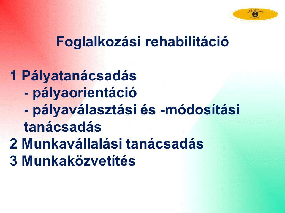 Foglalkozási rehabilitáció