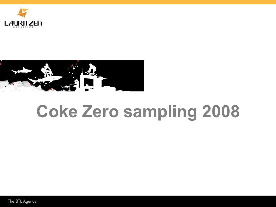 Coke Zero sampling 2008 1