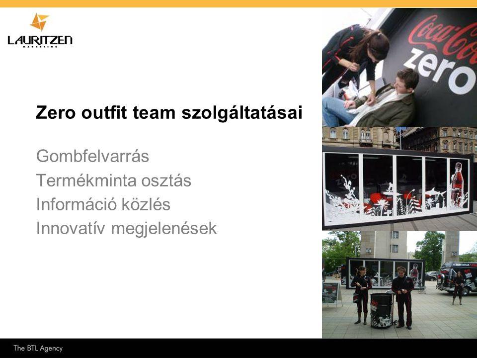 Zero outfit team szolgáltatásai