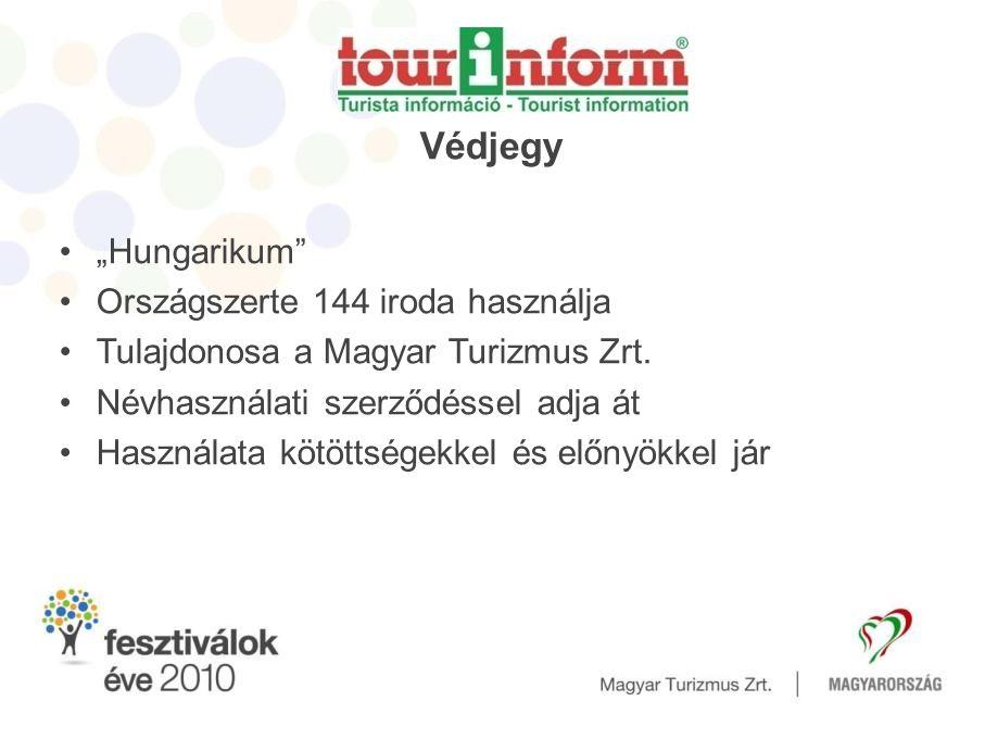 """Védjegy """"Hungarikum Országszerte 144 iroda használja"""