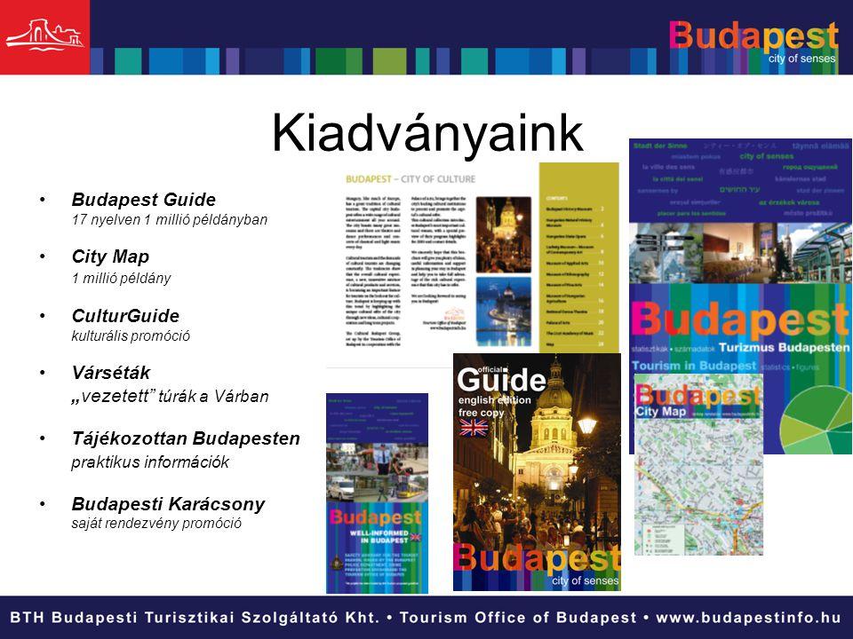 Kiadványaink Budapest Guide City Map CulturGuide Várséták