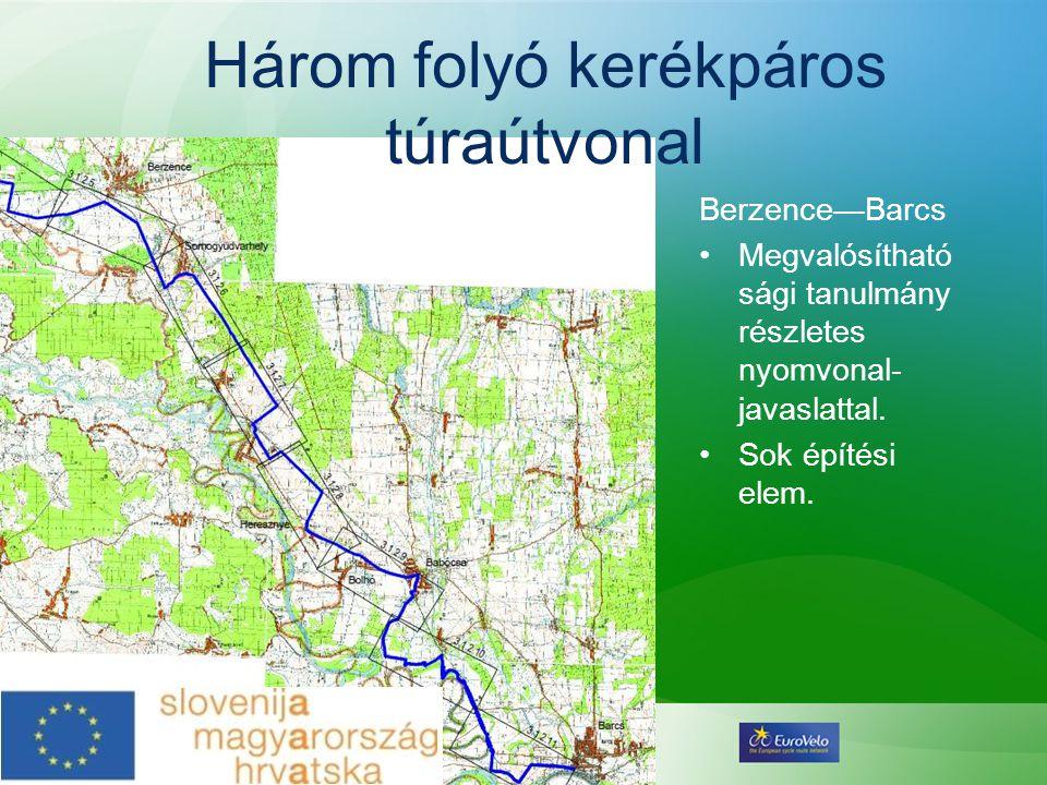 Három folyó kerékpáros túraútvonal