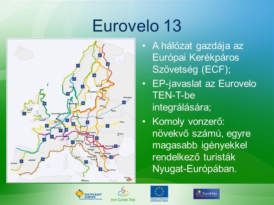 Eurovelo 13 A hálózat gazdája az Európai Kerékpáros Szövetség (ECF);