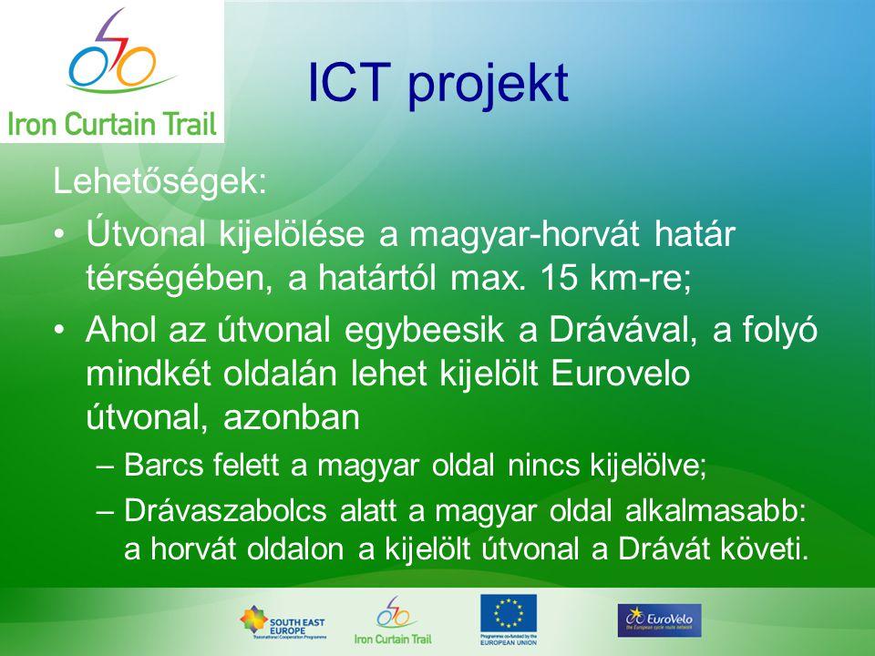 ICT projekt Lehetőségek: