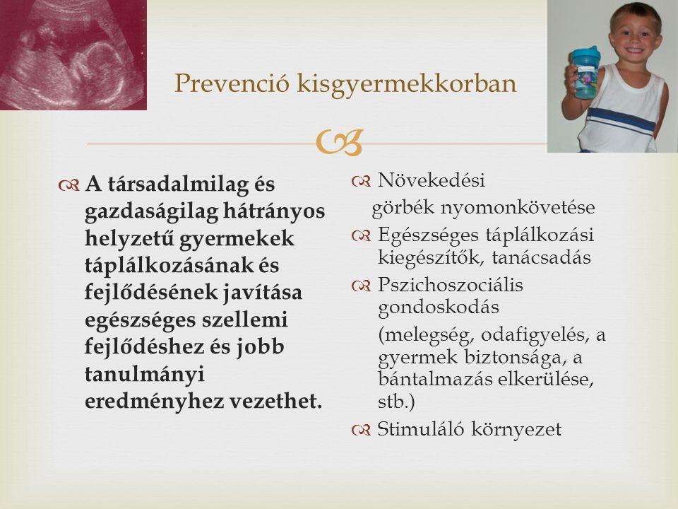 Prevenció kisgyermekkorban