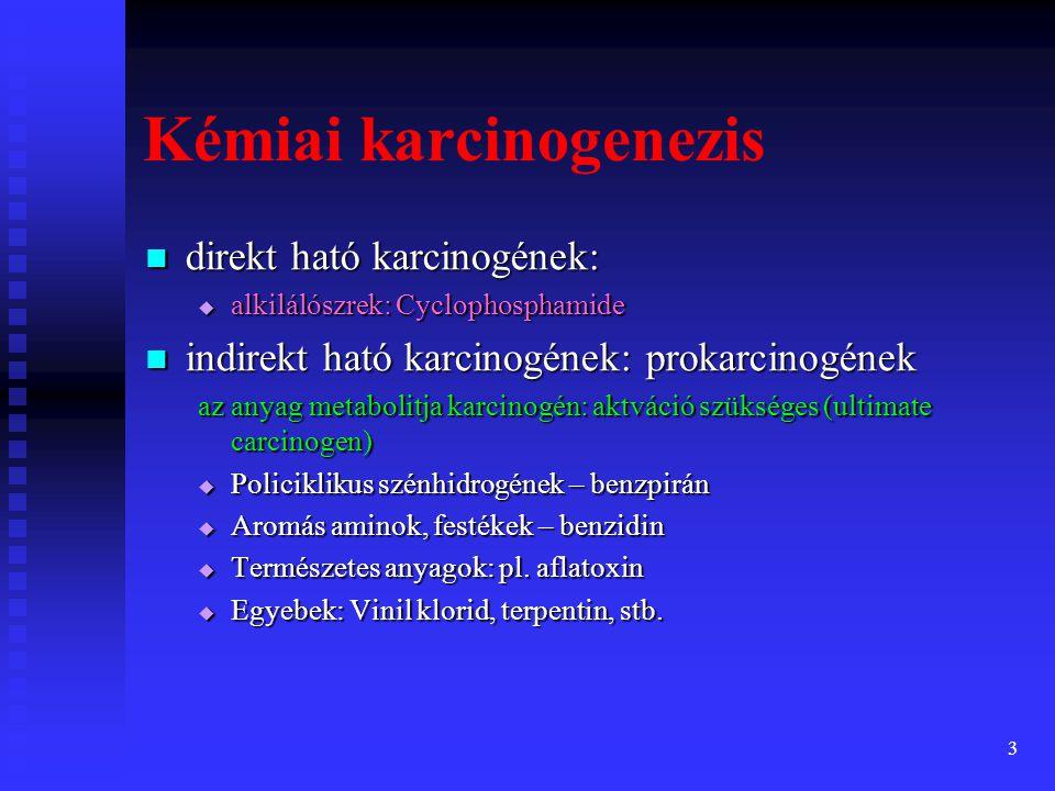 Kémiai karcinogenezis