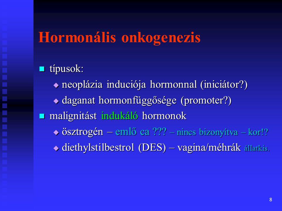 Hormonális onkogenezis