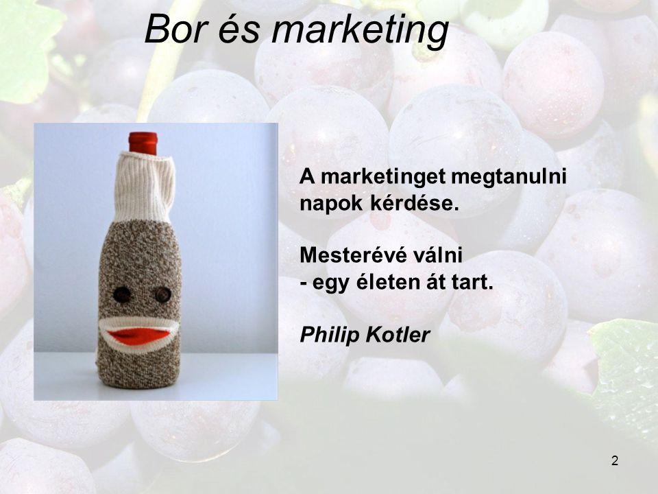 Bor és marketing A marketinget megtanulni napok kérdése.