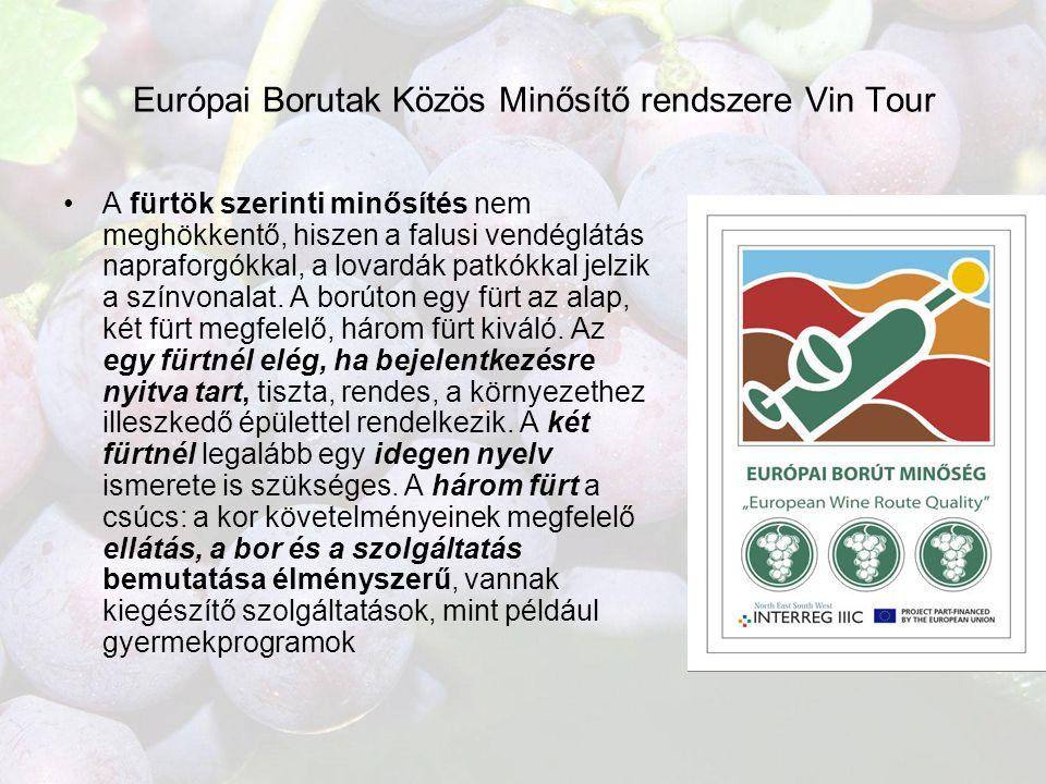 Európai Borutak Közös Minősítő rendszere Vin Tour