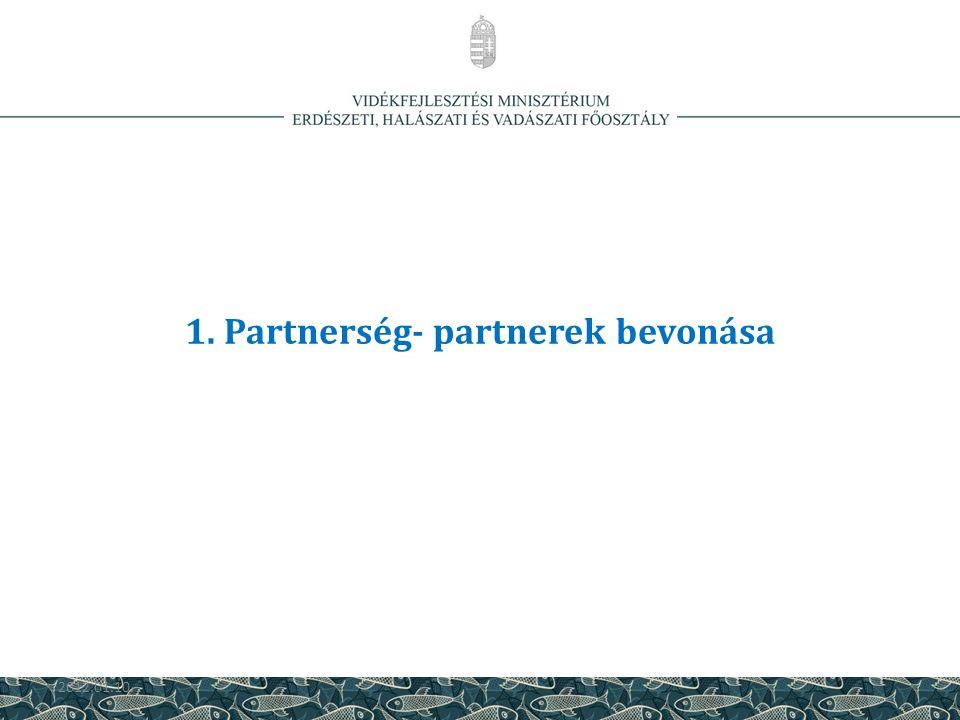 1. Partnerség- partnerek bevonása