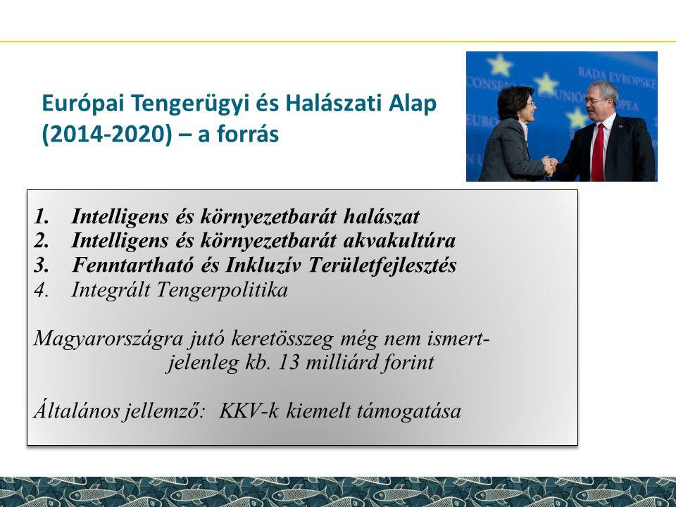 Európai Tengerügyi és Halászati Alap (2014-2020) – a forrás