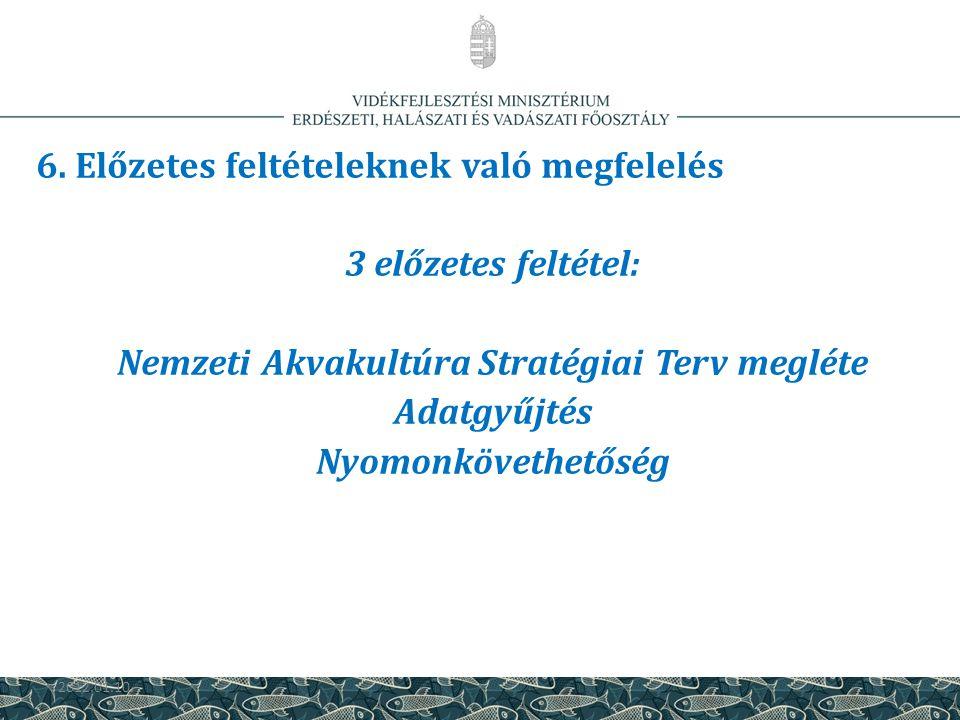 Nemzeti Akvakultúra Stratégiai Terv megléte