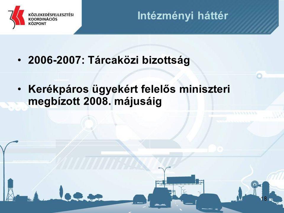 2006-2007: Tárcaközi bizottság