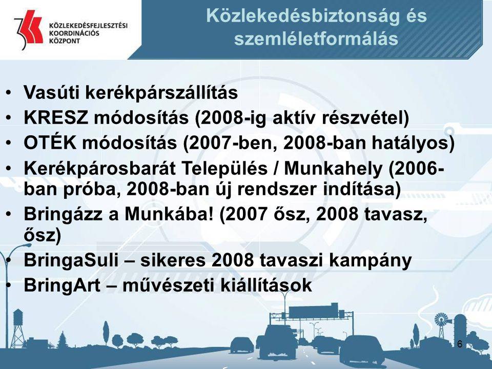 Közlekedésbiztonság és szemléletformálás