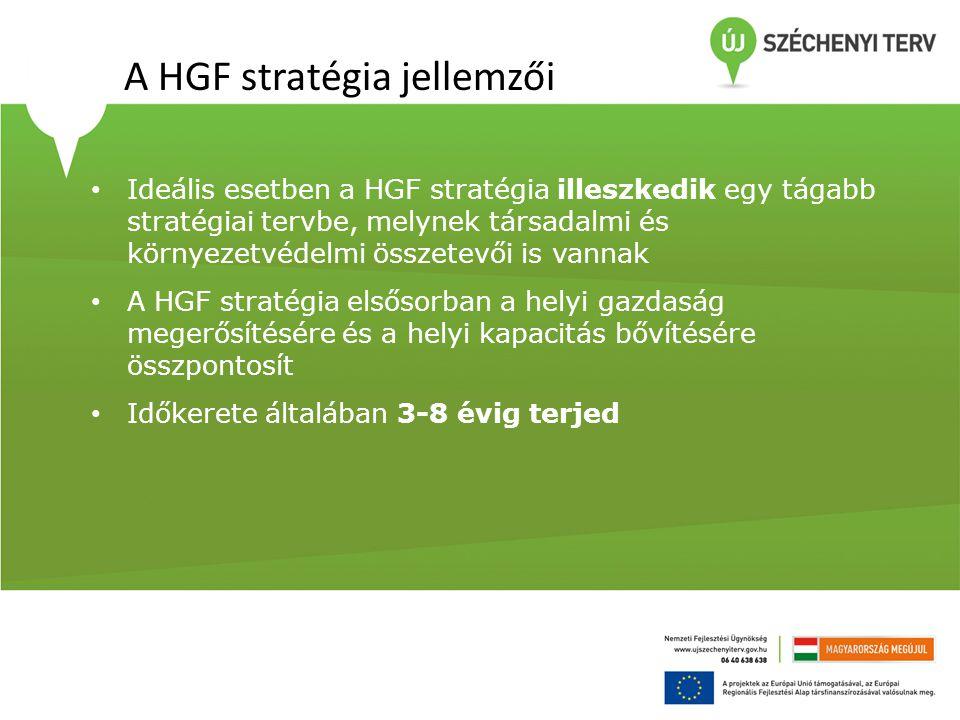 A HGF stratégia jellemzői