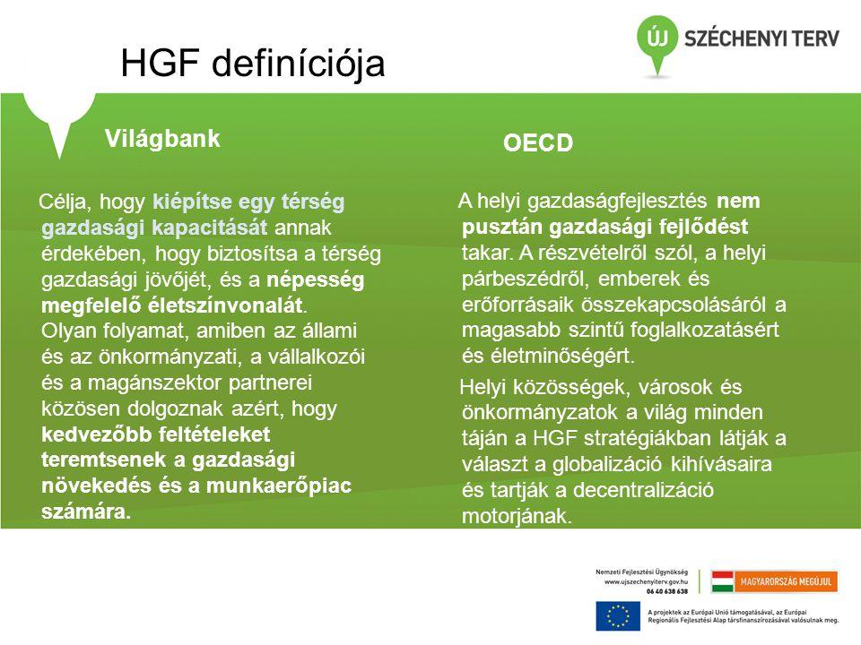 HGF definíciója Világbank OECD