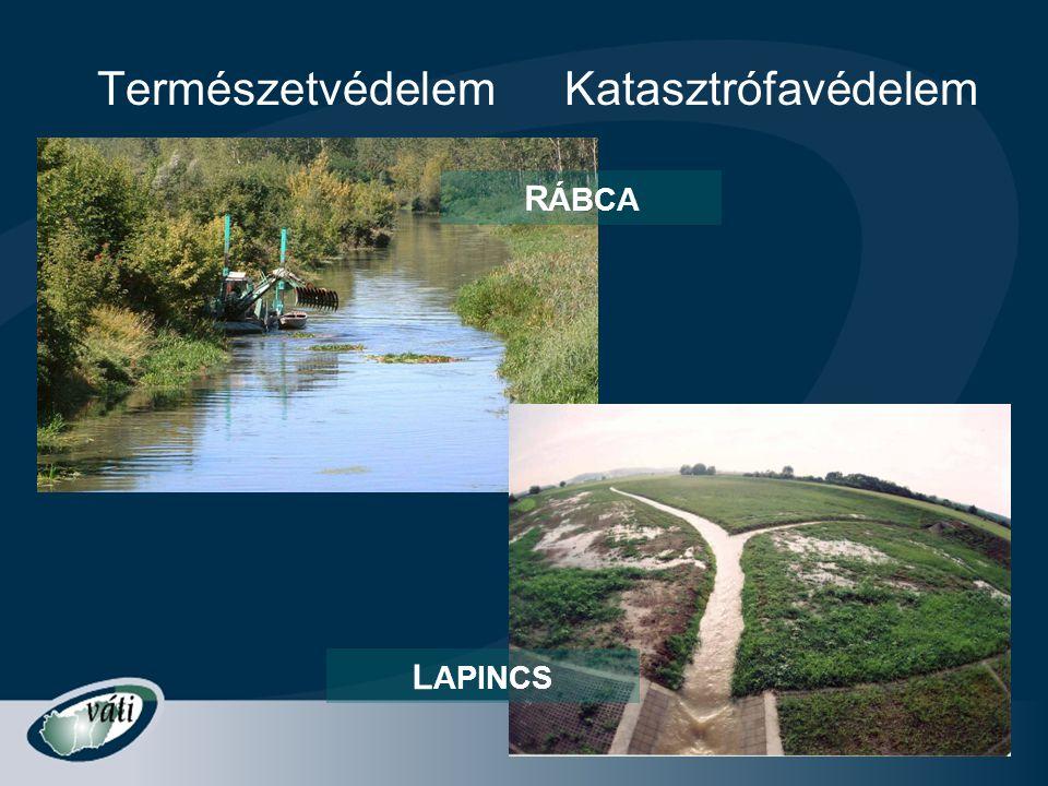 Természetvédelem Katasztrófavédelem RÁBCA LAPINCS