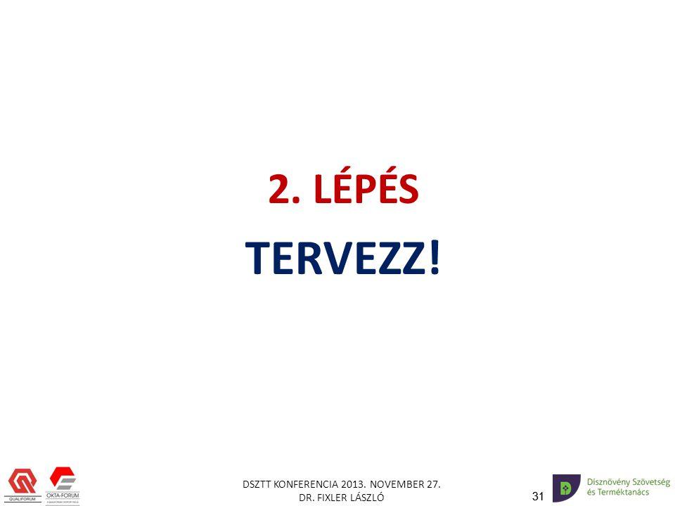2. LÉPÉS TERVEZZ!