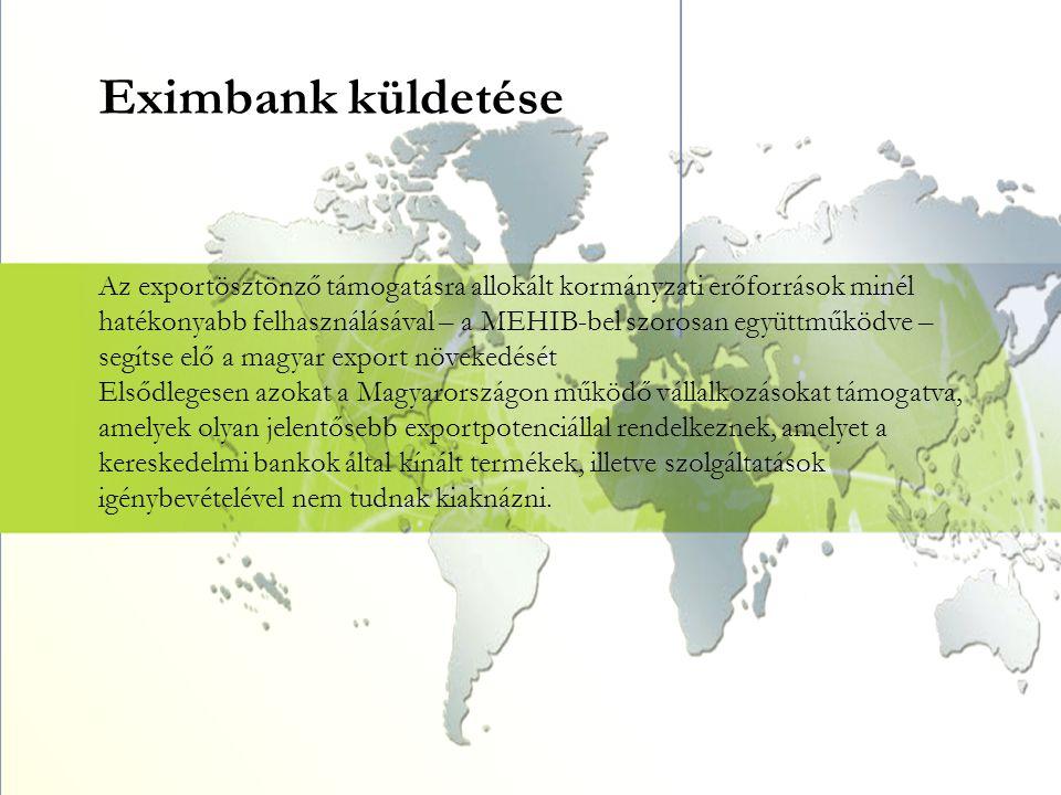 Eximbank küldetése