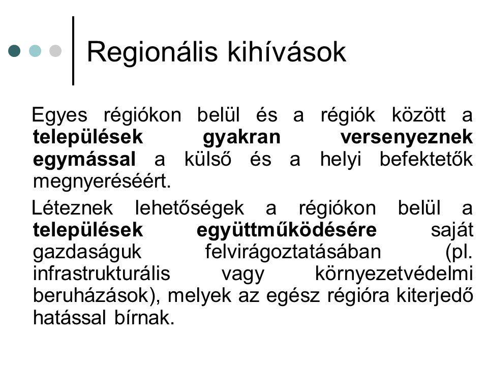 Regionális kihívások