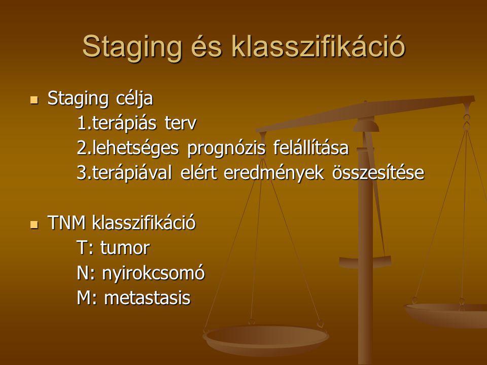 Staging és klasszifikáció