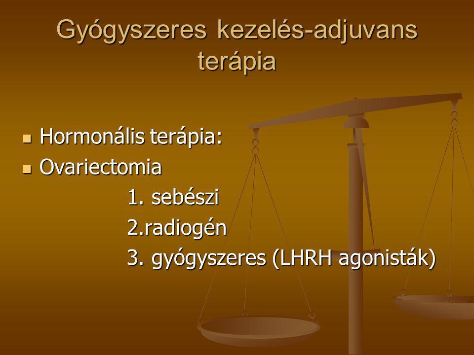 Gyógyszeres kezelés-adjuvans terápia