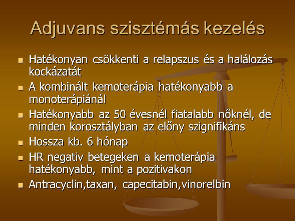 Adjuvans szisztémás kezelés