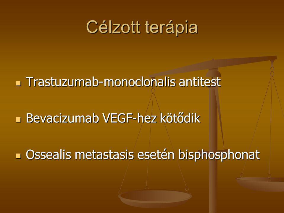 Célzott terápia Trastuzumab-monoclonalis antitest