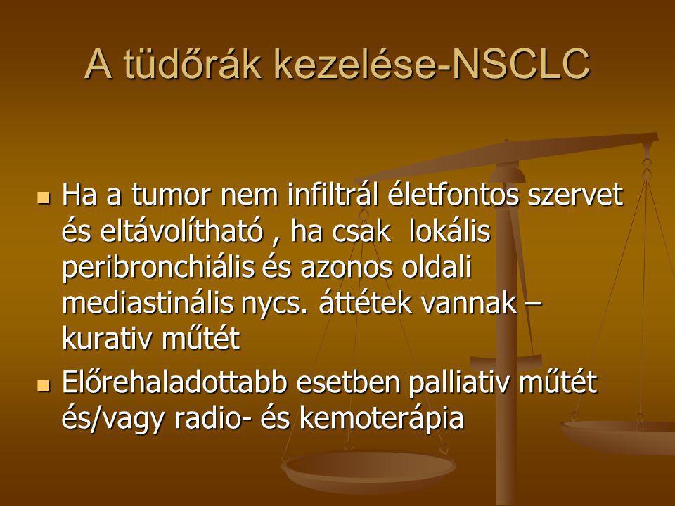 A tüdőrák kezelése-NSCLC
