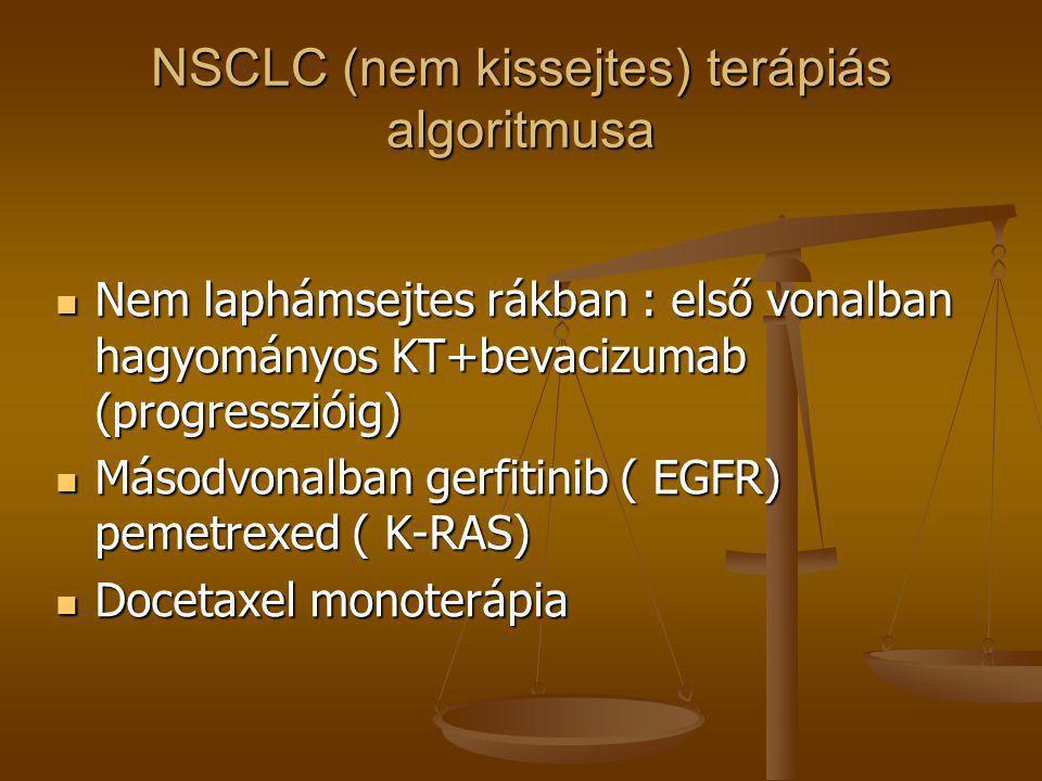 NSCLC (nem kissejtes) terápiás algoritmusa