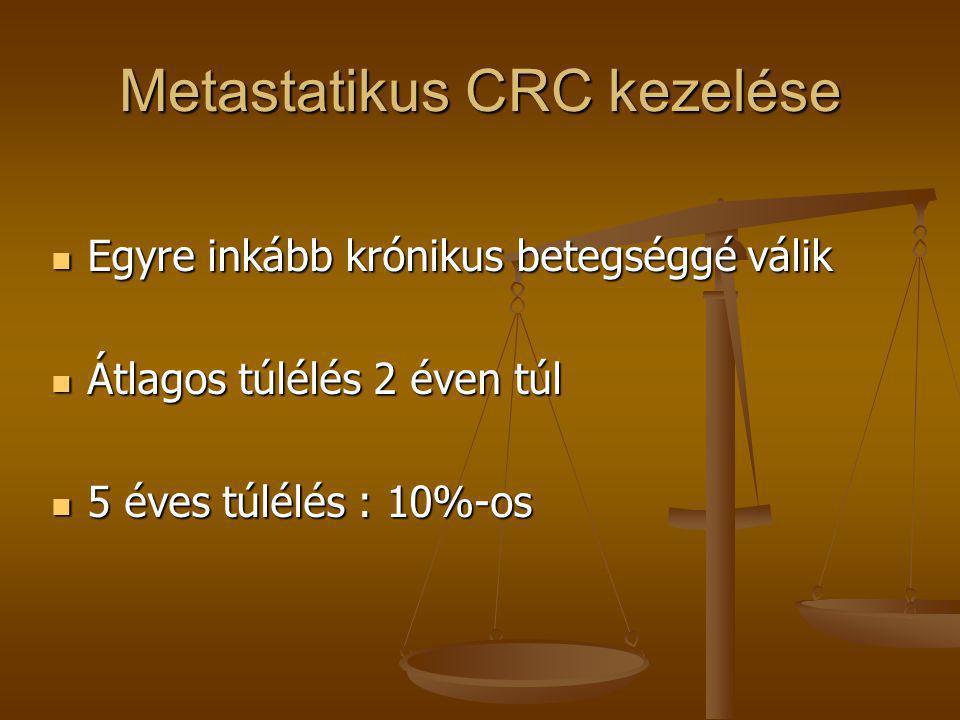 Metastatikus CRC kezelése