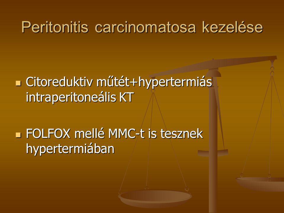 Peritonitis carcinomatosa kezelése