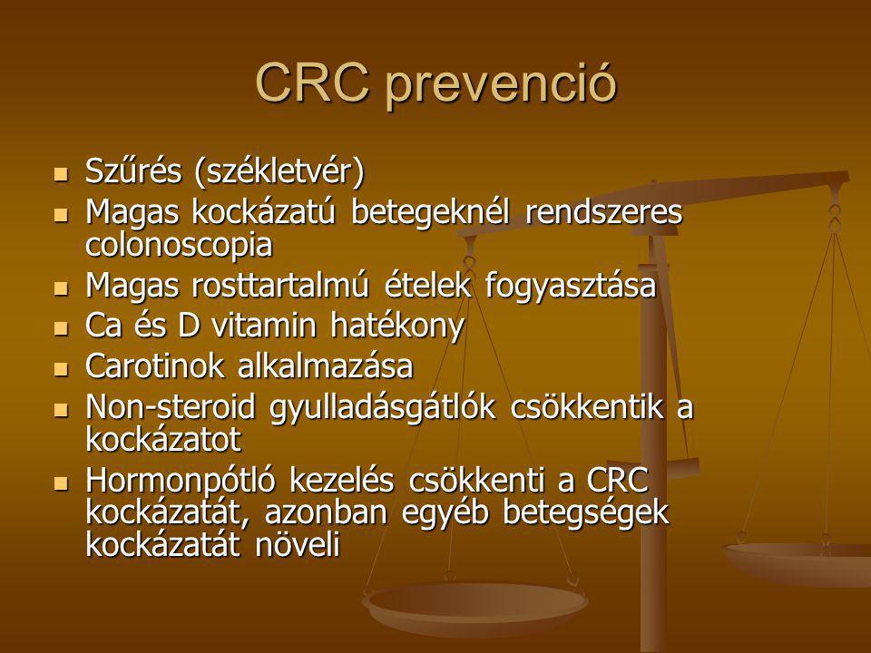 CRC prevenció Szűrés (székletvér)