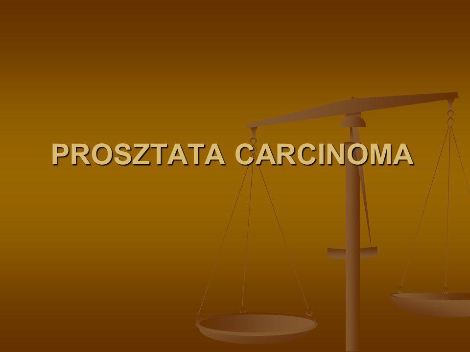 PROSZTATA CARCINOMA