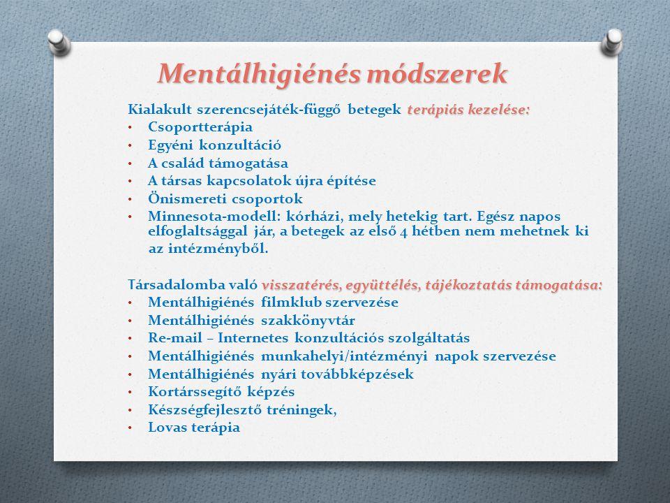 Mentálhigiénés módszerek