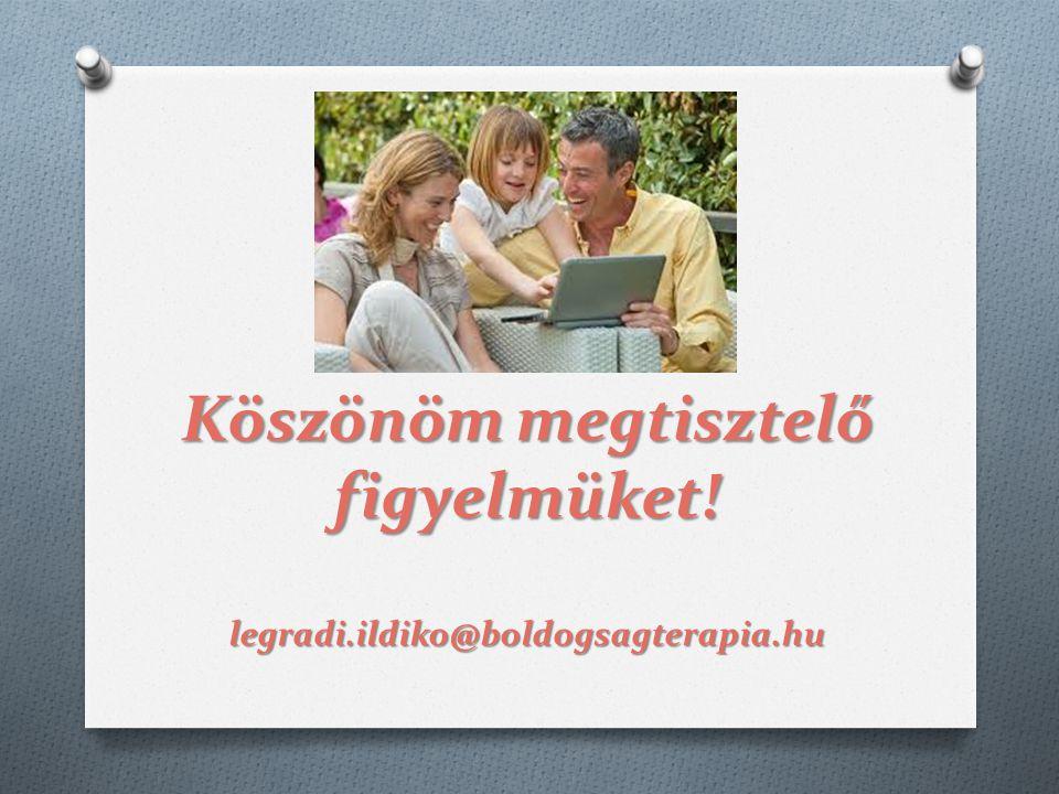 Köszönöm megtisztelő figyelmüket! legradi.ildiko@boldogsagterapia.hu