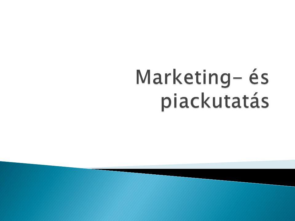 Marketing- és piackutatás