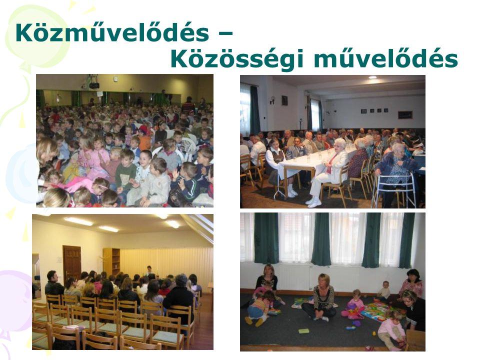 Közművelődés – Közösségi művelődés